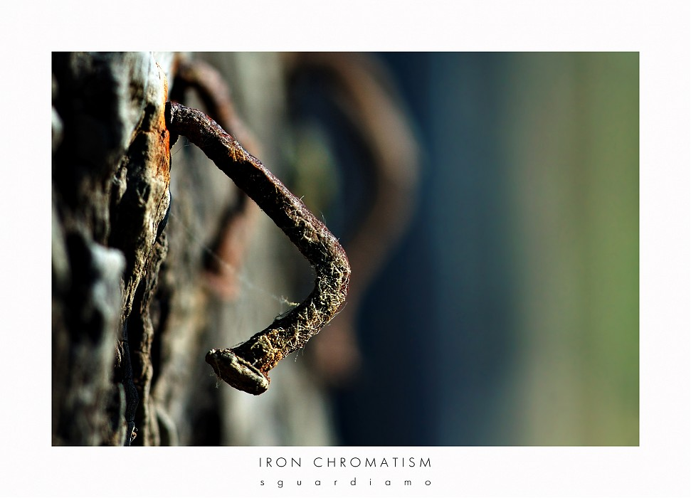 photoblog image Iron Chromatism